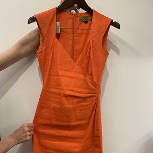 NICOLE MILLER jewel neckline Dress